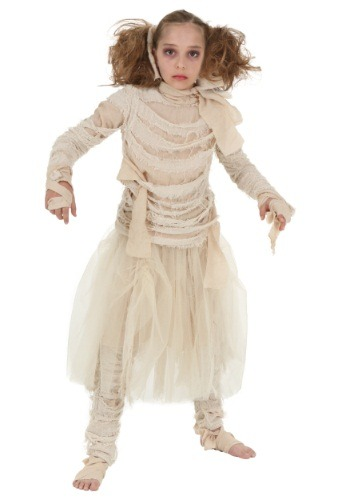 Click Here to buy Girls Mummy Costume from HalloweenCostumes, CDN Funds & Shipping