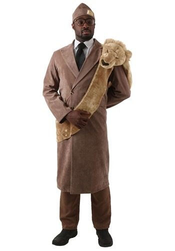 Plus Size Coming to America King Costume 2X