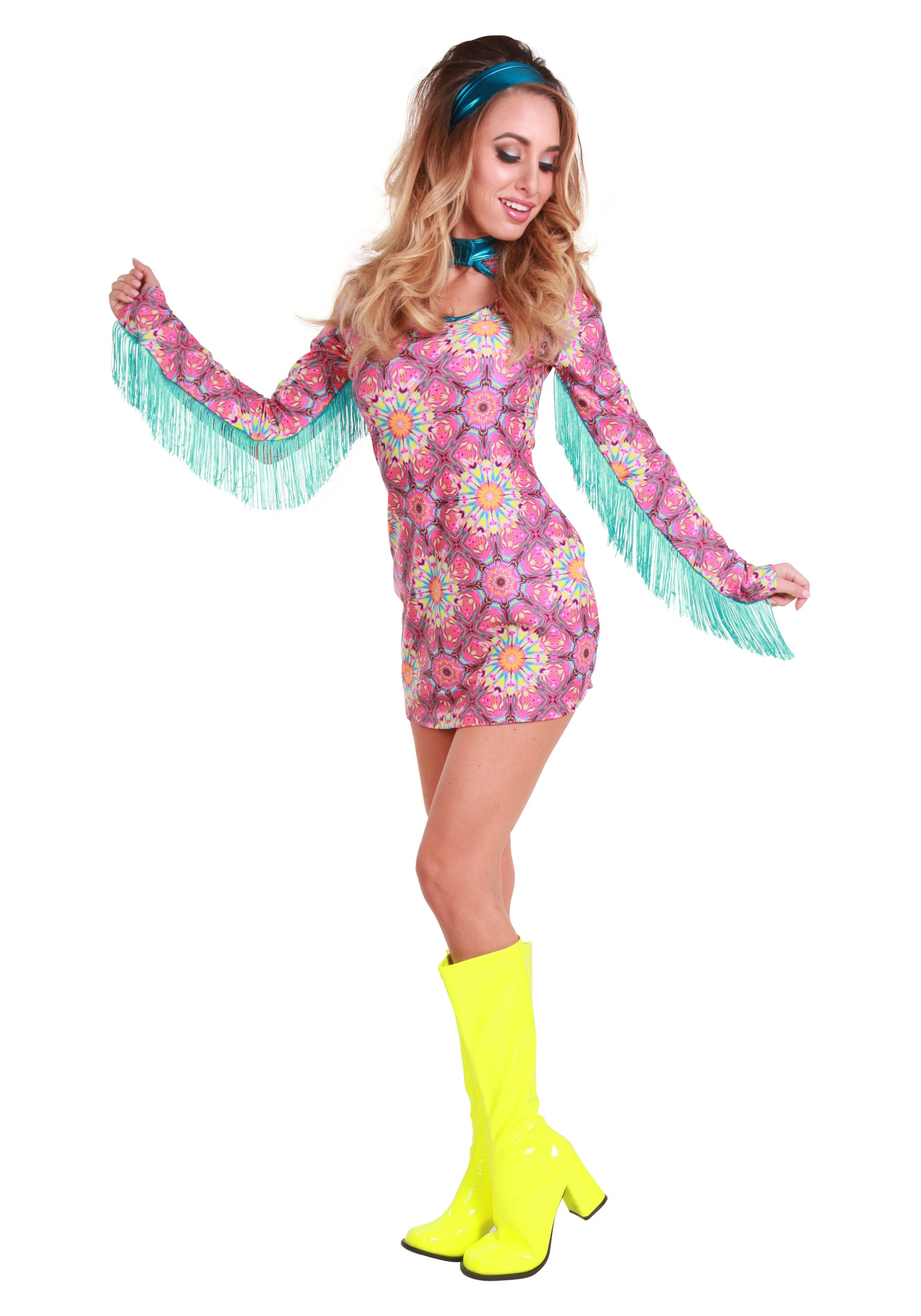4c0275884e9 Women s Summer of Love Hippie Costume