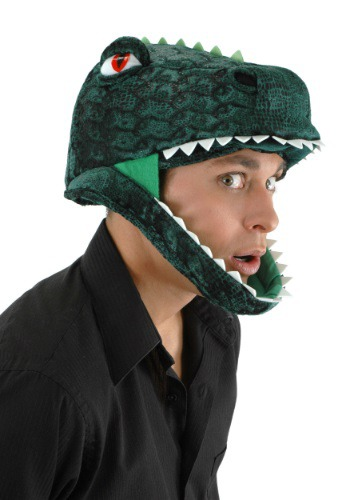 Click Here to buy Padded T-Rex Hat from HalloweenCostumes, CDN Funds & Shipping