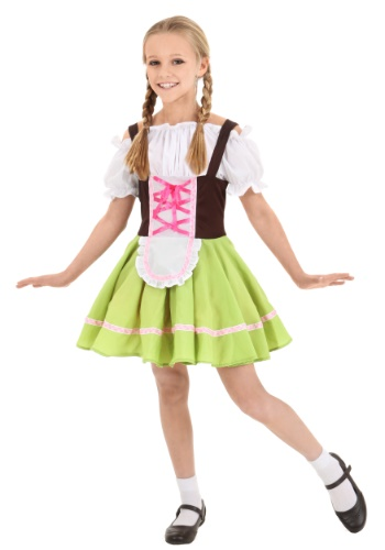 Click Here to buy Kids German Girl Costume from HalloweenCostumes, CDN Funds & Shipping