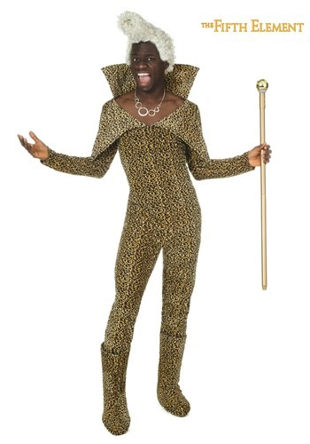 5th Element Ruby Rhod Costume w/Wig