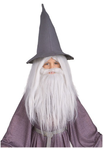 Adult Gandalf Beard and Wig Set