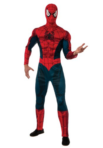 Click Here to buy Marvel Adult Spider-Man Costume from HalloweenCostumes, CDN Funds & Shipping
