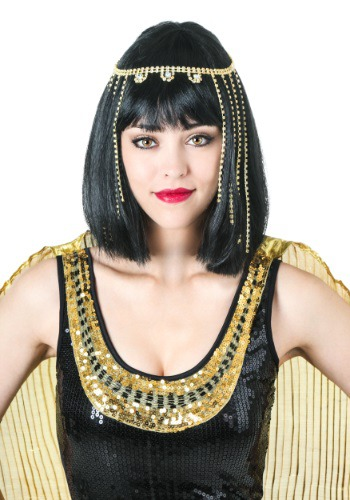 Click Here to buy Deluxe Cleopatra Wig from HalloweenCostumes, CDN Funds & Shipping