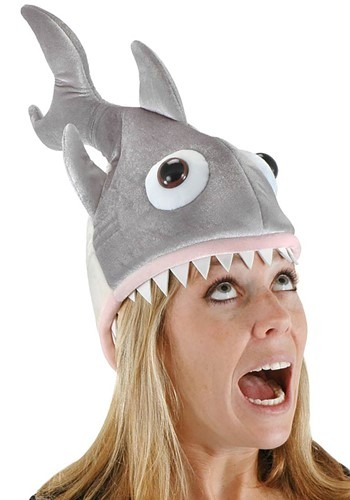 Click Here to buy Deluxe Shark Hat from HalloweenCostumes, CDN Funds & Shipping