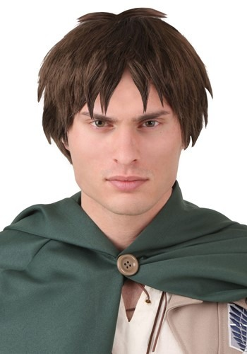 Click Here to buy Attack on Titan Eren Yaeger Wig from HalloweenCostumes, CDN Funds & Shipping