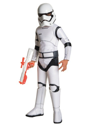Click Here to buy Kids Deluxe Star Wars Ep. 7 Stormtrooper Costume from HalloweenCostumes, CDN Funds & Shipping