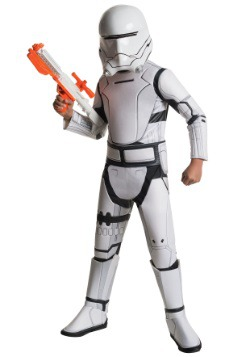 Child Deluxe Star Wars Ep. 7 Flametrooper Costume