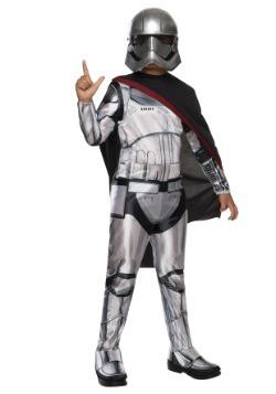 Child Classic Star Wars Ep 7 Captain Phasma Costume