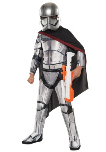 Click Here to buy Kids Deluxe Star Wars Ep. 7 Captain Phasma Costume from HalloweenCostumes, CDN Funds & Shipping