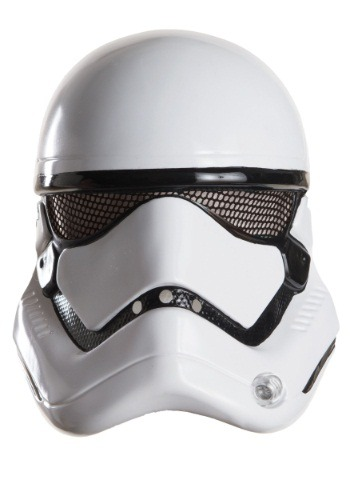 Adult Star Wars Ep. 7 Stormtrooper 1/2 Helmet