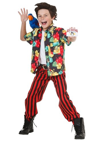 Click Here to buy Kids Ace Ventura Costume with Wig from HalloweenCostumes, CDN Funds & Shipping