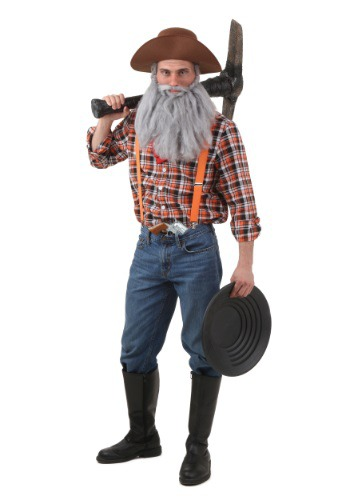 Click Here to buy Adult Prospector Costume from HalloweenCostumes, CDN Funds & Shipping