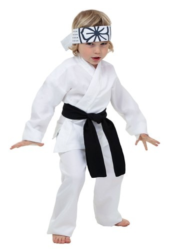Click Here to buy Toddler Daniel San Costume from HalloweenCostumes, CDN Funds & Shipping