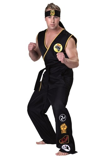 Plus Size Cobra Kai Costume | Karate Kid Costume
