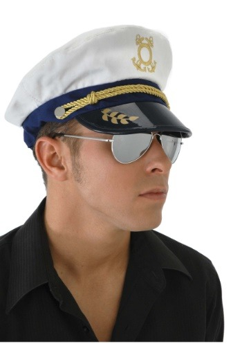 Click Here to buy Mens Sailor Captain Hat from HalloweenCostumes, CDN Funds & Shipping