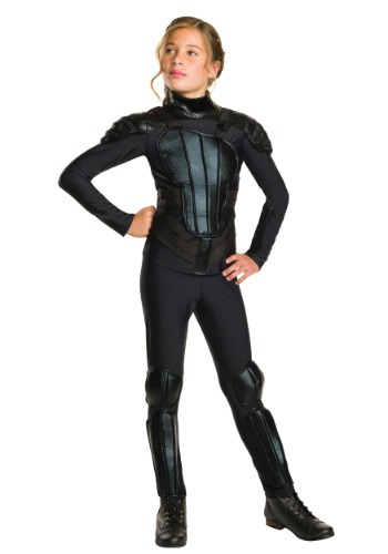 Click Here to buy Tween Katniss Mockingjay Costume from HalloweenCostumes, CDN Funds & Shipping