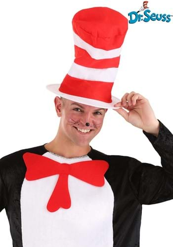 Click Here to buy Cat in the Hat Adult Hat from HalloweenCostumes, CDN Funds & Shipping