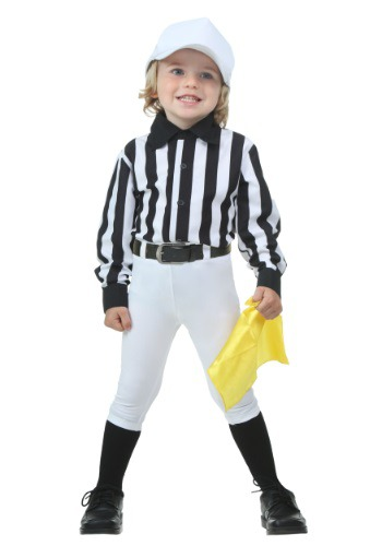 Click Here to buy Toddler Referee Costume from HalloweenCostumes, CDN Funds & Shipping