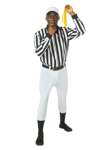 Click Here to buy Plus Size Referee Costume from HalloweenCostumes, CDN Funds & Shipping