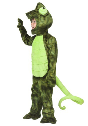 Click Here to buy Toddler Chameleon Costume from HalloweenCostumes, CDN Funds & Shipping