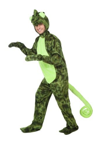 Click Here to buy Adult Chameleon Costume from HalloweenCostumes, CDN Funds & Shipping