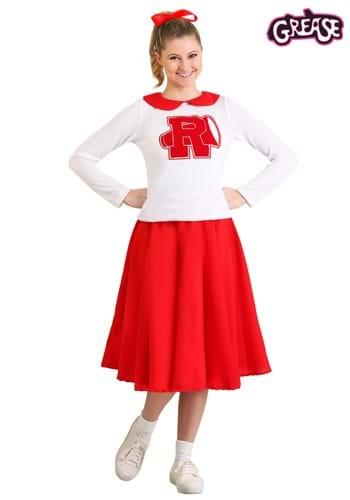 Women's Grease Rydell High Cheerleader Costume Update Main2