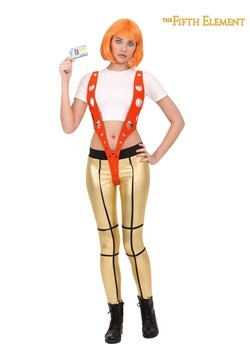 5th Element Leeloo Orange Harness Costume