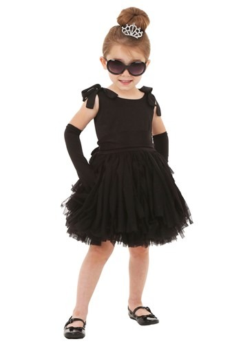 Toddler Breakfast at Tiffanys Holly Golightly Costume