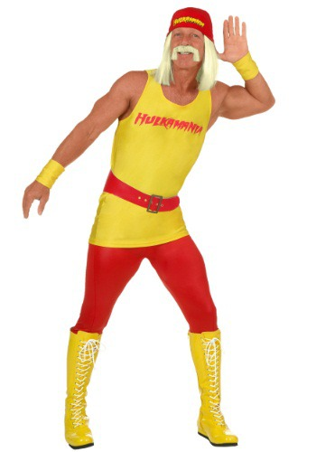 Plus Size Mens WWE Hulk Hogan Costume