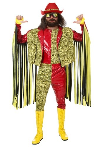 Macho Man Randy Savage Costume | WWE Wrestling Costume
