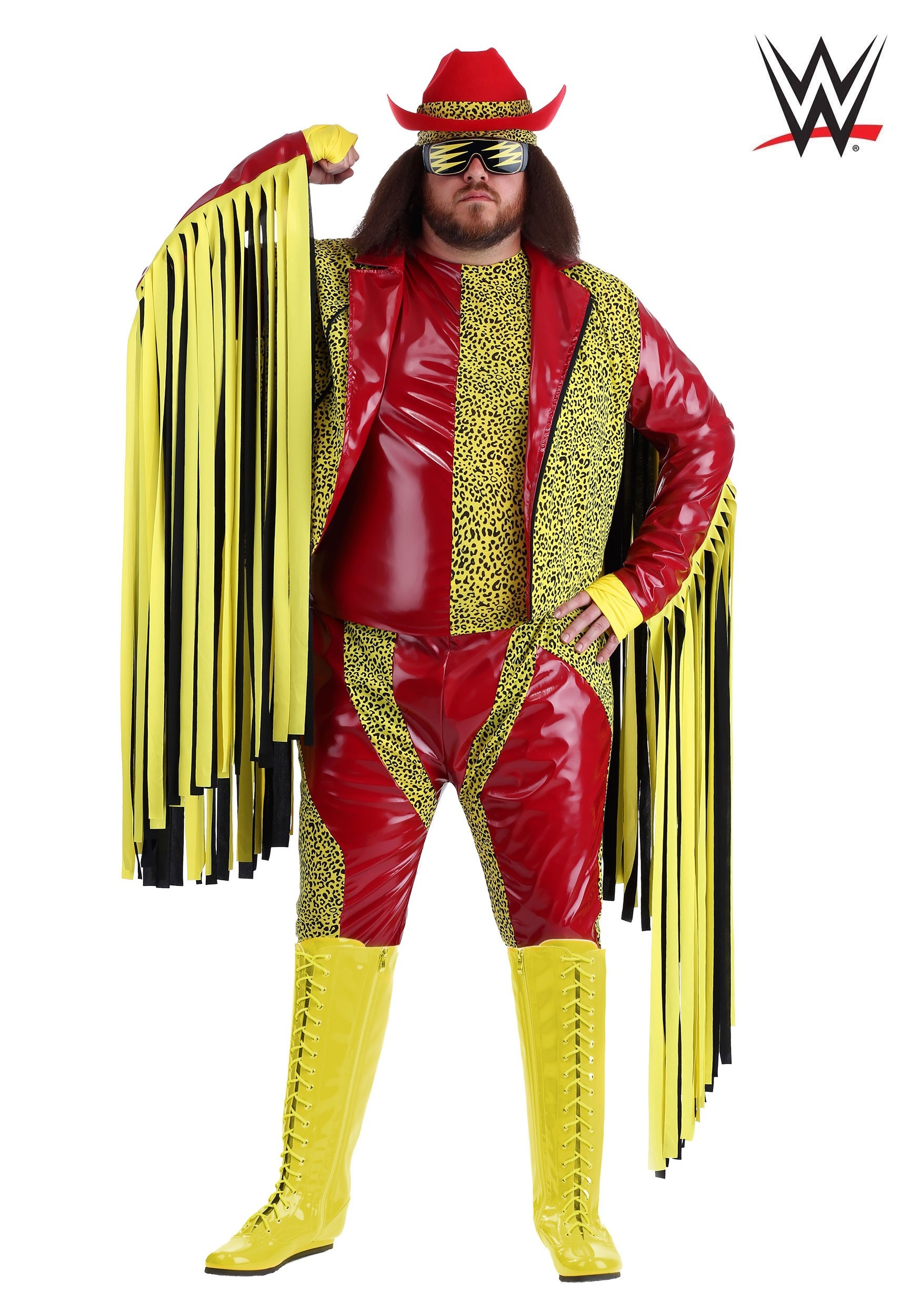 Plus Size Macho Man Randy Savage Costume  sc 1 st  Halloween Costumes CA & WWE Costumes