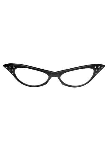 50s Black Frame Glasses