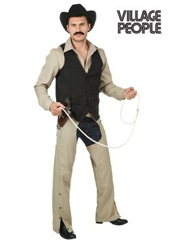 Plus Size Village People Cowboy Costume