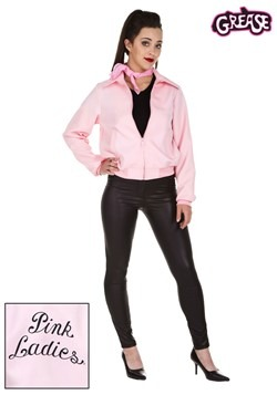 Plus Size Deluxe Pink Ladies Jacket