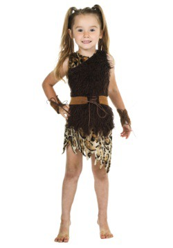 Toddler Cavegirl Costume
