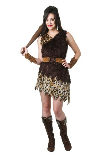 Click Here to buy Cavewoman Costume from HalloweenCostumes, CDN Funds & Shipping