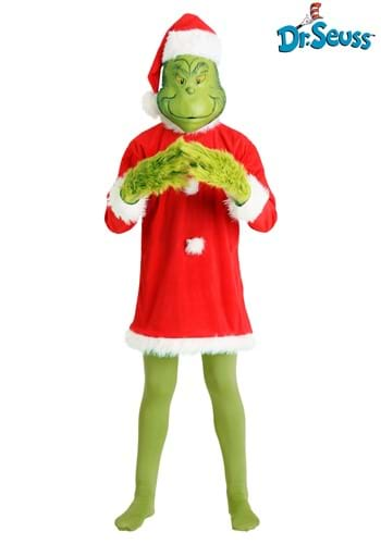 Deluxe Grinch Costume | Christmas Costumes