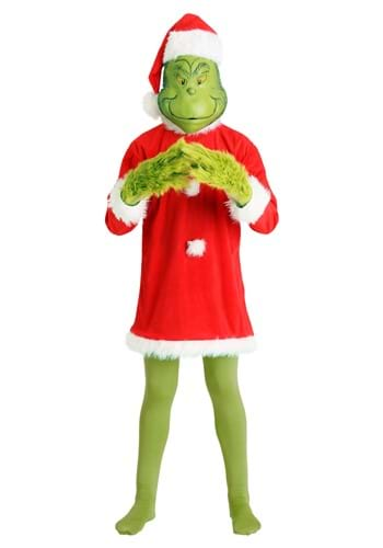 Deluxe Grinch Costume   Christmas Costumes