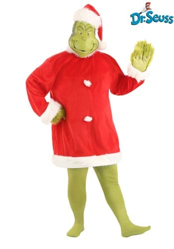 Plus Size Grinch Costume