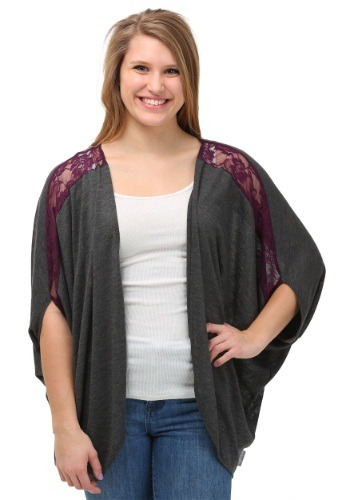 Women's Hawkeye Dolman Shrug