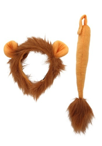 Click Here to buy Lion Ears and Tail from HalloweenCostumes, CDN Funds & Shipping