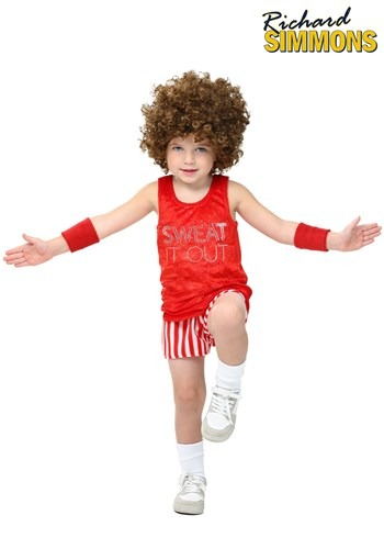 Click Here to buy Toddler Workout Video Star Costume from HalloweenCostumes, CDN Funds & Shipping