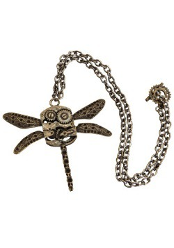 Antique Dragonfly Necklace