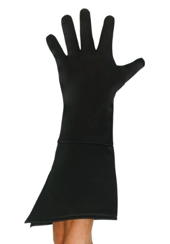 Adult Black Superhero Gloves