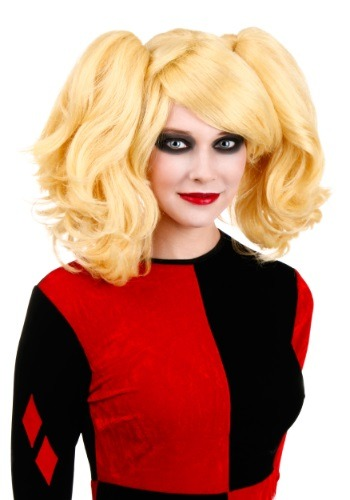 Click Here to buy Womens Harlequin Wig from HalloweenCostumes, CDN Funds & Shipping