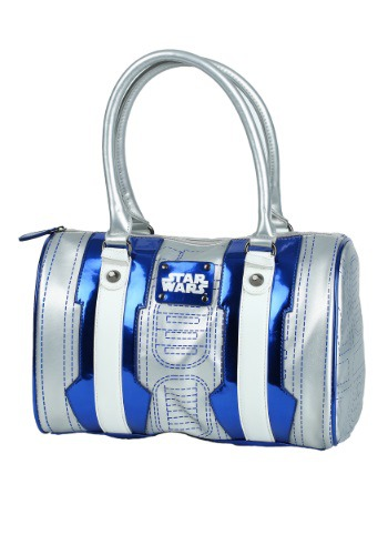 Click Here to buy Star Wars R2D2 Bowler Purse from HalloweenCostumes, CDN Funds & Shipping