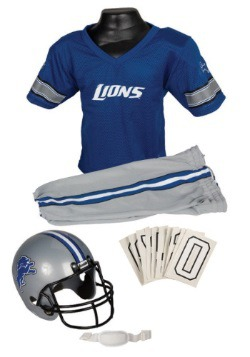 NFL Lions Uniform Costume