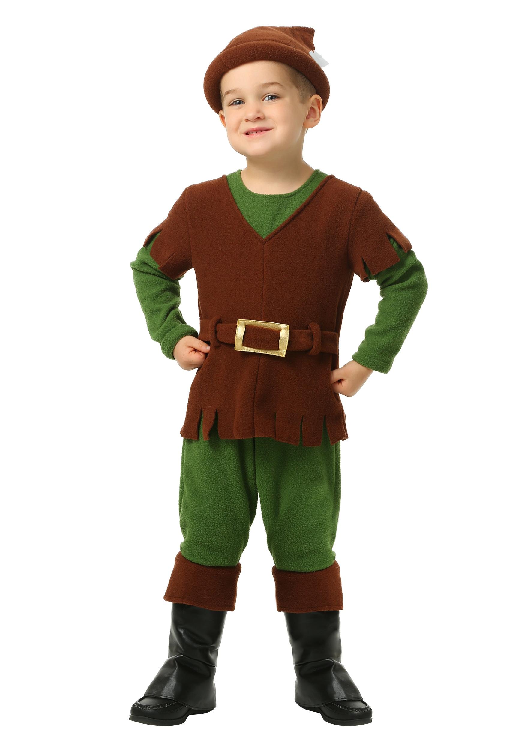 sc 1 st  Halloween Costumes UK & Toddler Little Robin Hood Costume